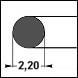 NBR70 d=2,20
