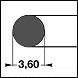 NBR70 d=3,60