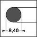 FPM75 d=8,40